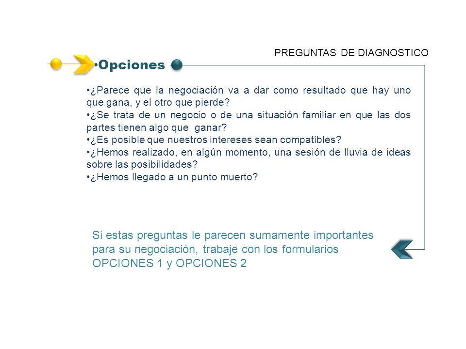 PREGUNTAS DE DIAGNOSTICO