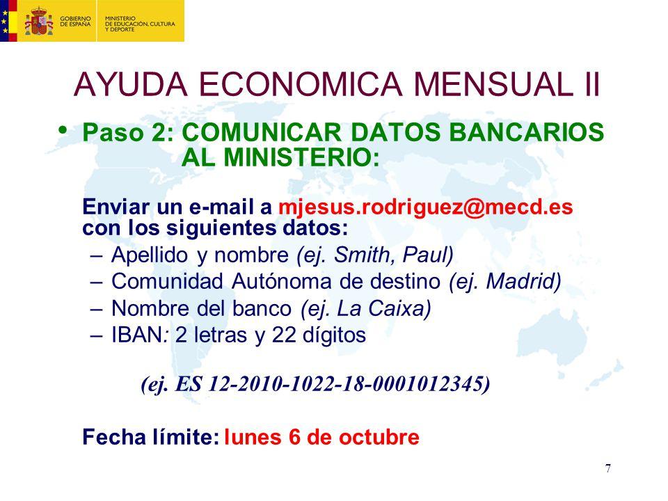 AYUDA ECONOMICA MENSUAL II