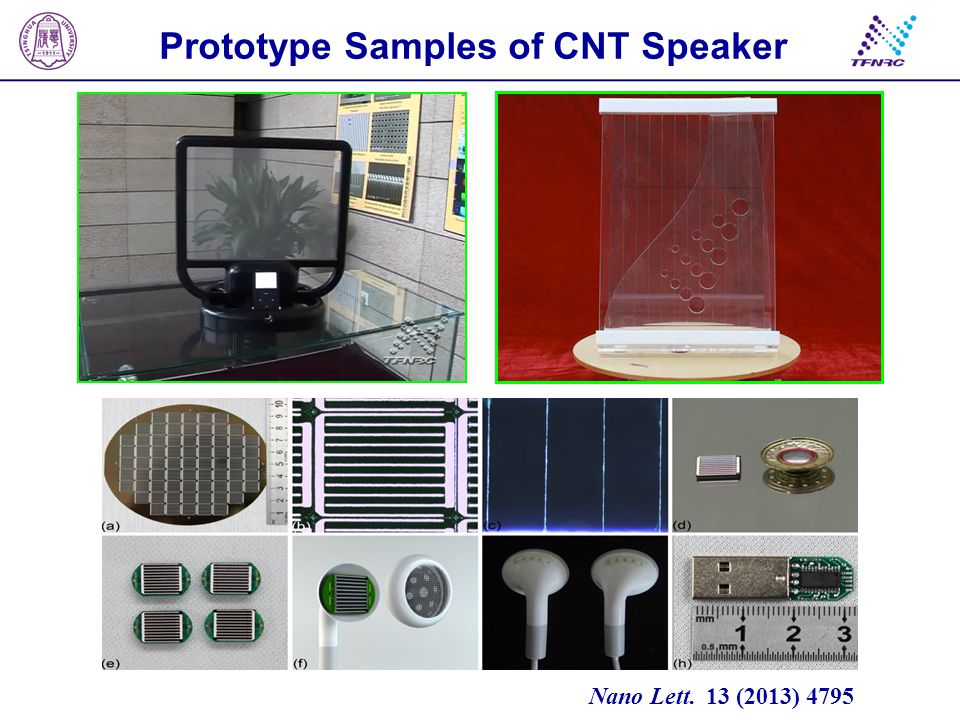 CNT thermoacoustic chips