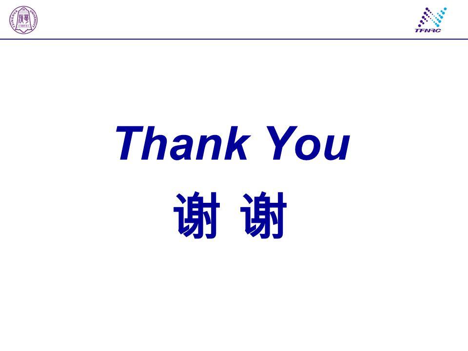 Thank You 谢 谢