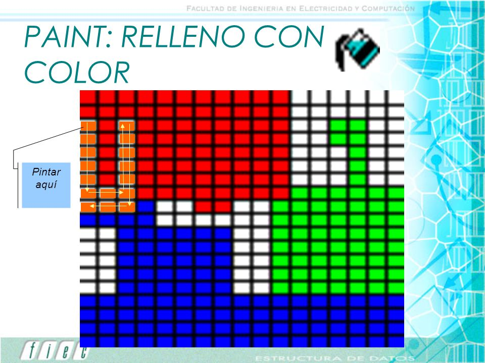 PAINT: RELLENO CON COLOR