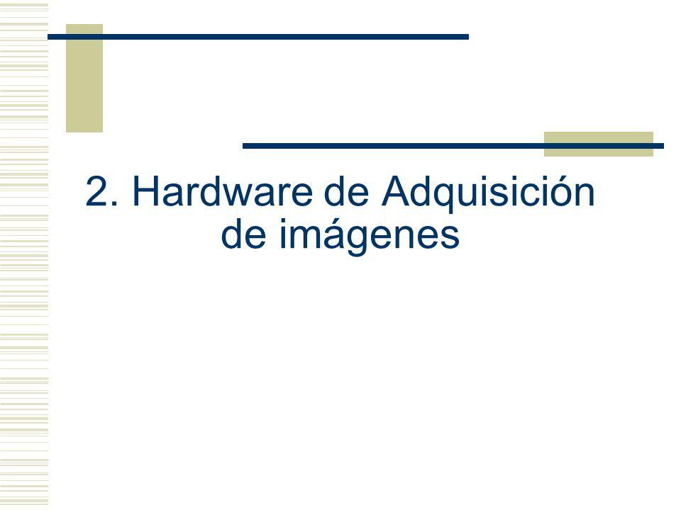 2. Hardware de Adquisición de imágenes