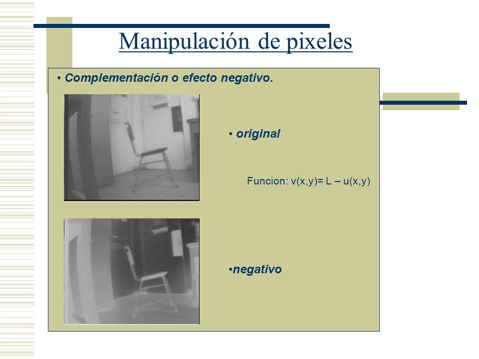Manipulación de pixeles