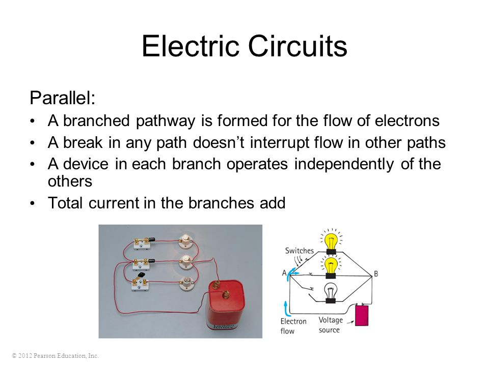 Electric Circuits Parallel: