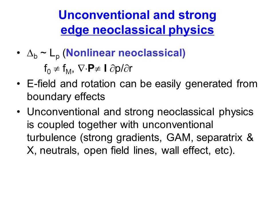 Unconventional and strong edge neoclassical physics
