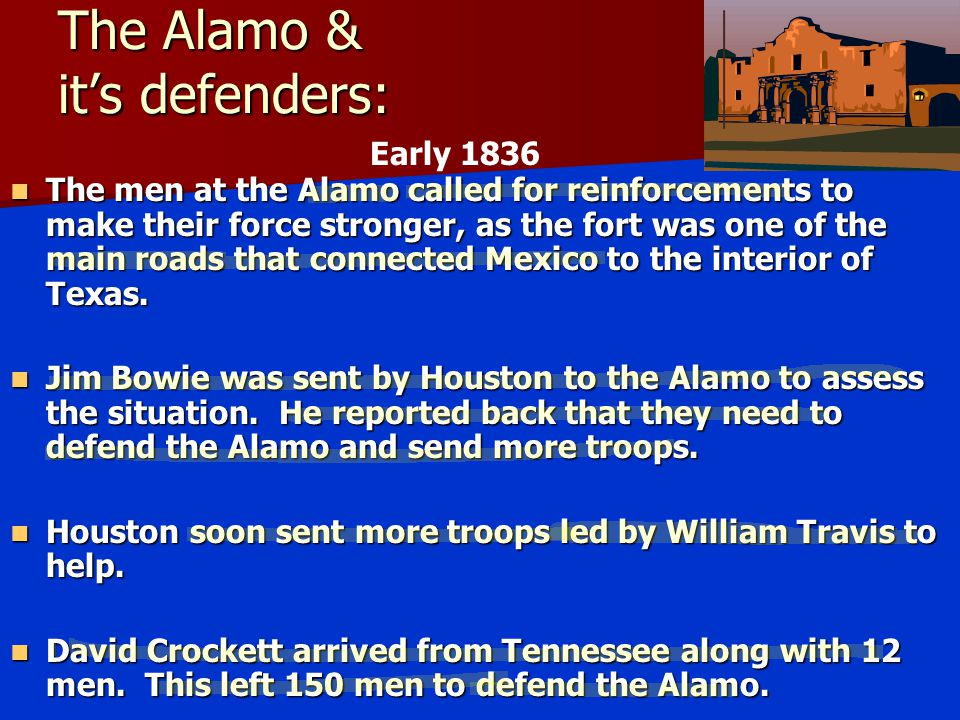 The Alamo & it's defenders: