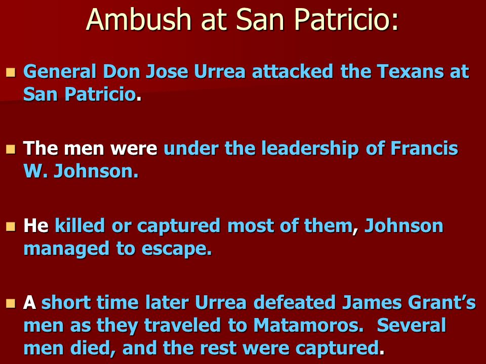 Ambush at San Patricio: