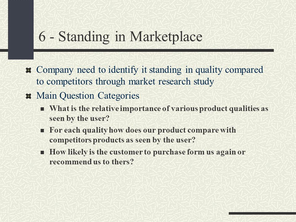 6 - Standing in Marketplace
