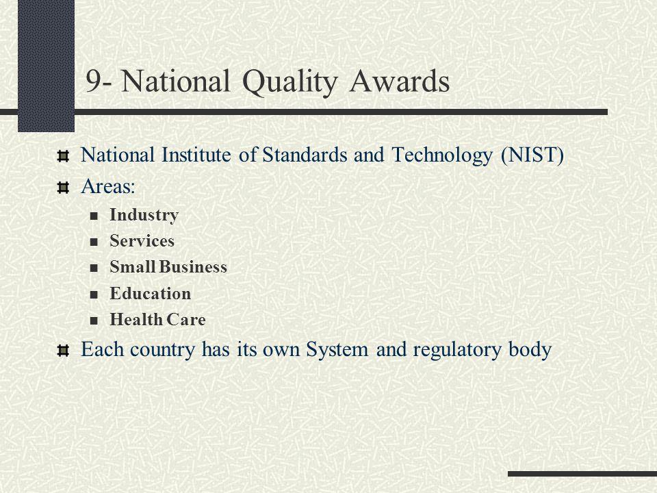 9- National Quality Awards