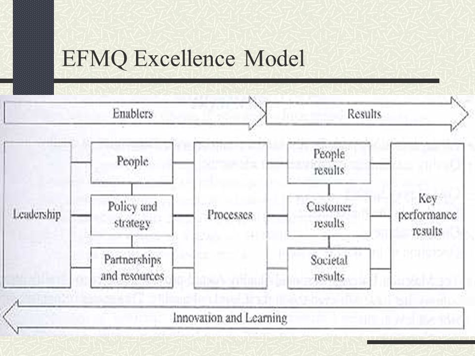 EFMQ Excellence Model