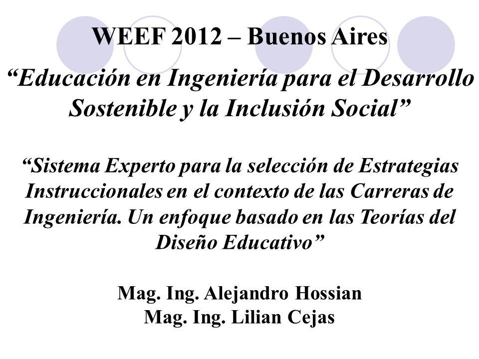 Mag. Ing. Alejandro Hossian