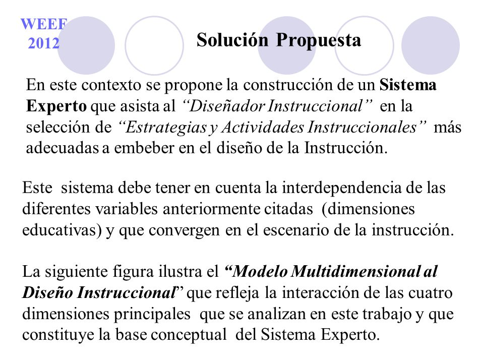 WEEF 2012 Solución Propuesta.