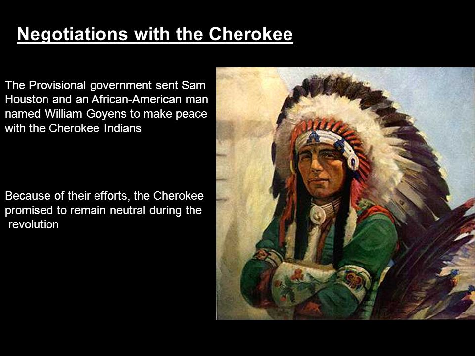 Negotiations with the Cherokee