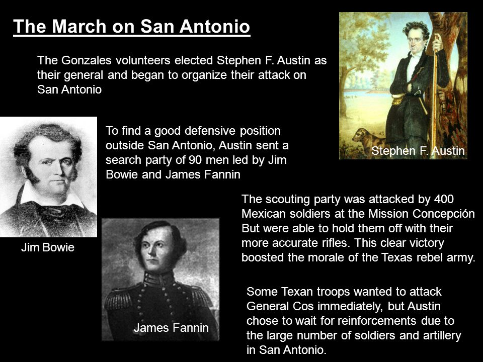 The March on San Antonio