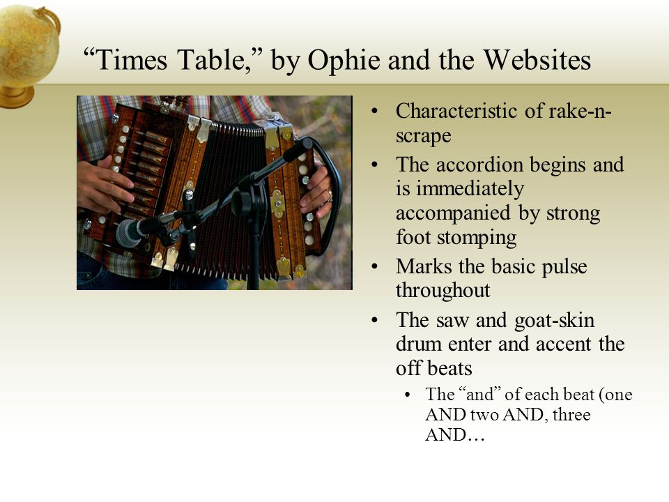Times Table, by Ophie and the Websites