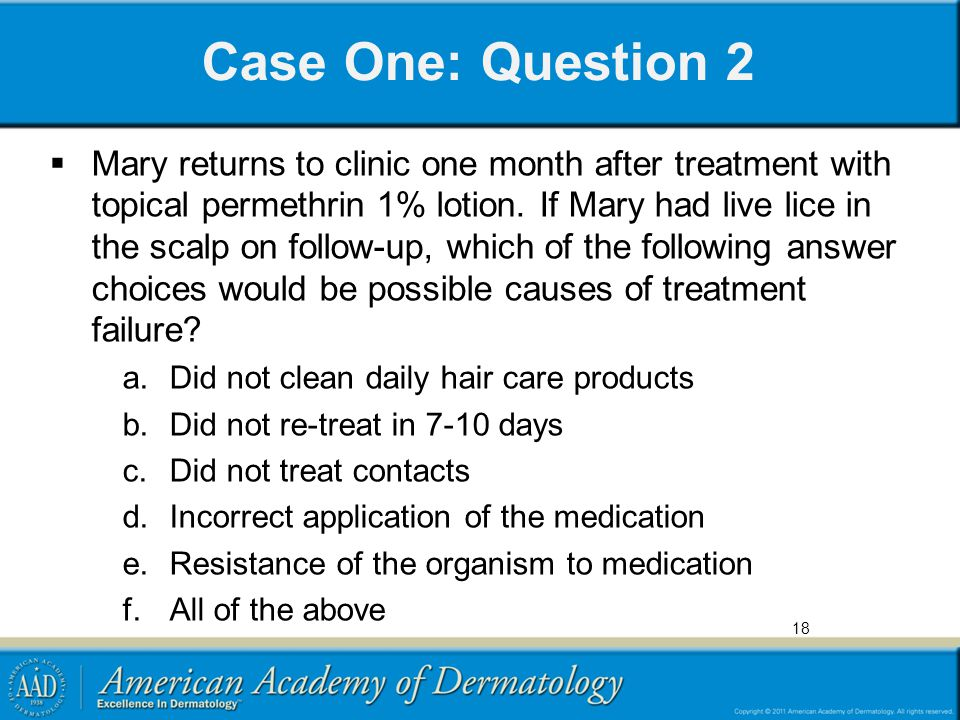 Case One: Question 2