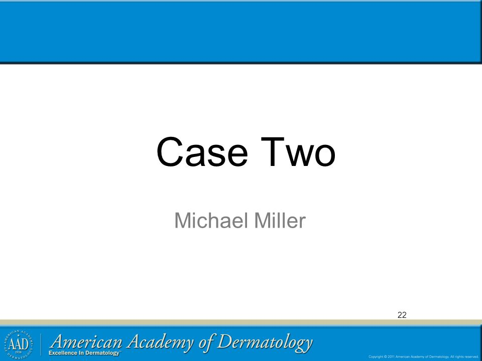 Case Two Michael Miller