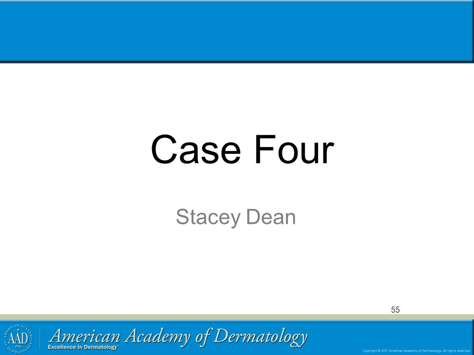 Case Four Stacey Dean