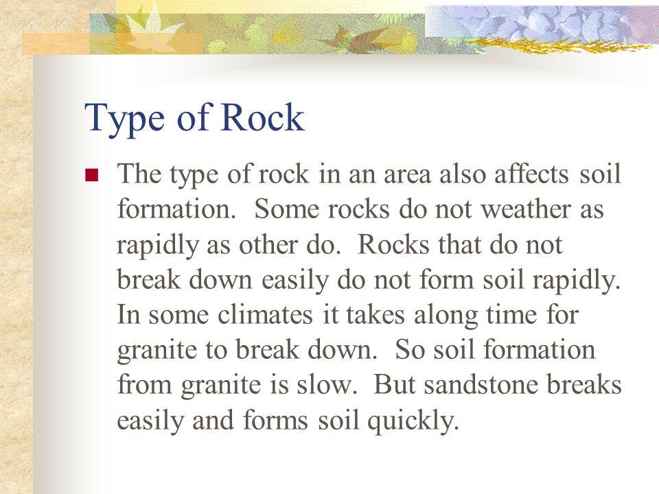 Type of Rock
