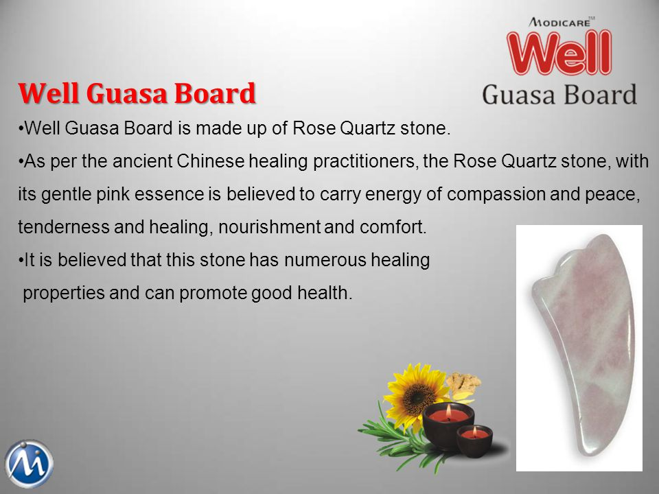 Well Guasa Board Well Guasa Board is made up of Rose Quartz stone.