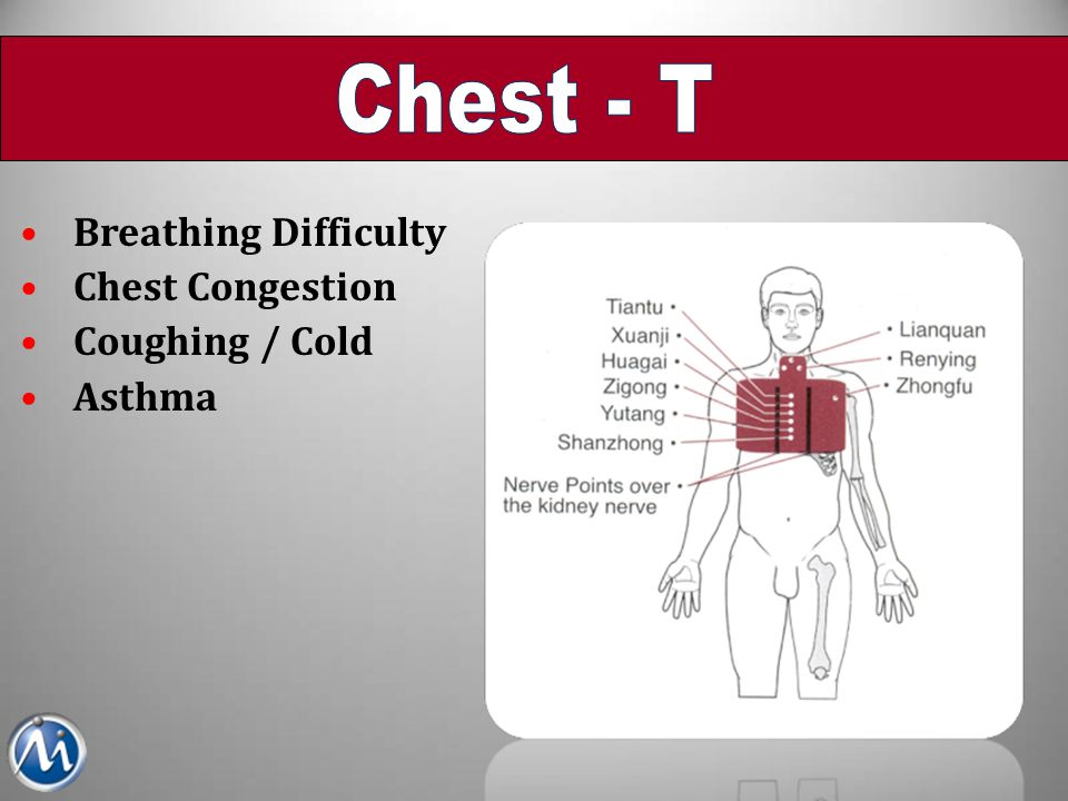 Chest - T Breathing Difficulty Chest Congestion Coughing / Cold Asthma