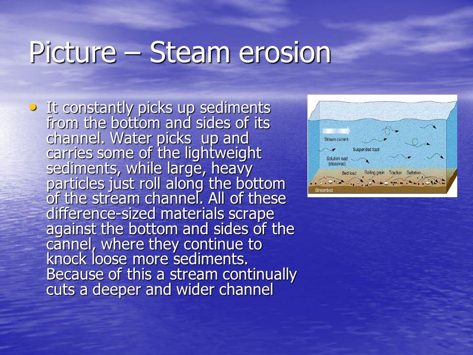 Picture – Steam erosion