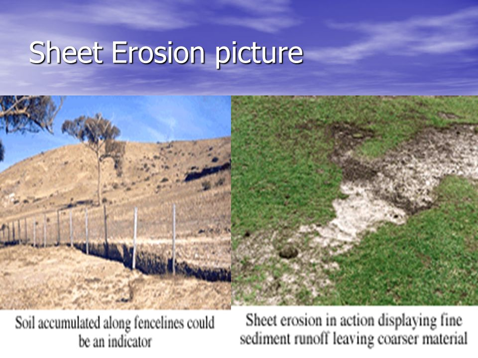 Sheet Erosion picture