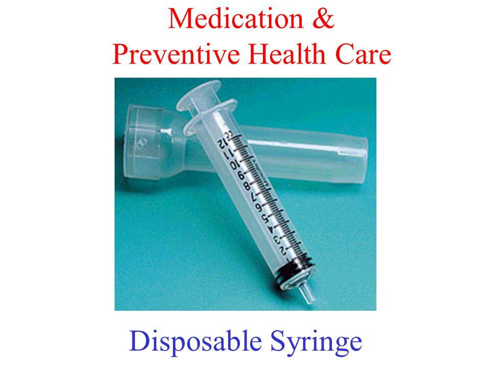 Medication & Preventive Health Care