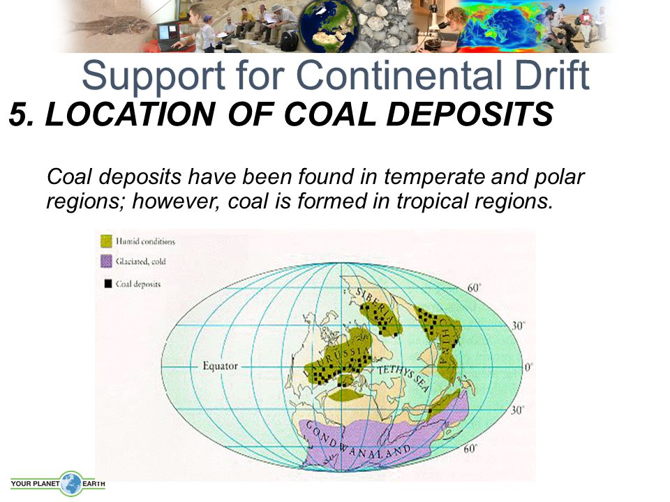 5. LOCATION OF Coal Deposits