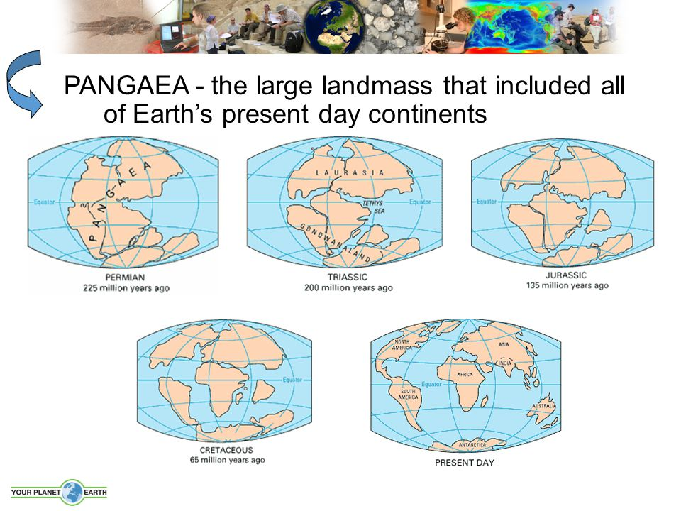 PANGAEA - the large landmass that included all of Earth's present day continents