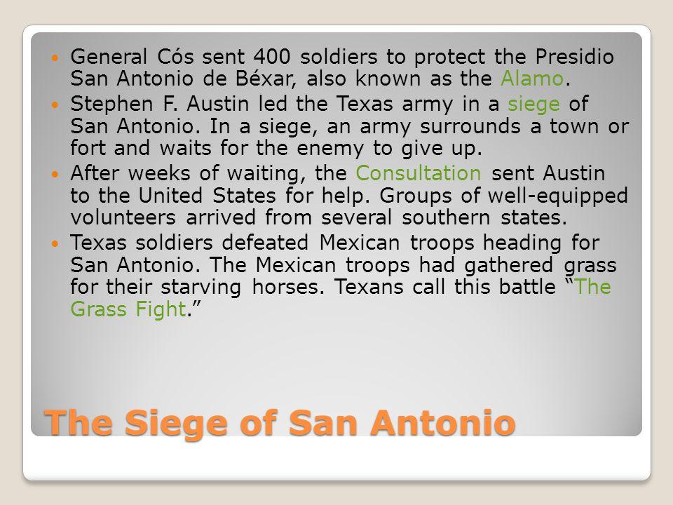 The Siege of San Antonio