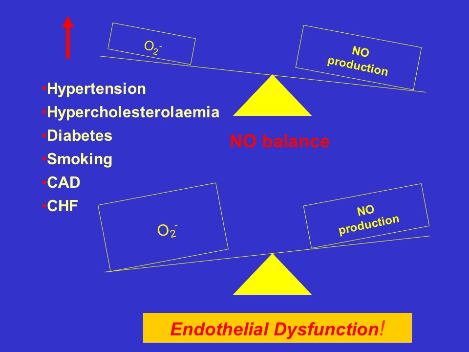 Endothelial Dysfunction!