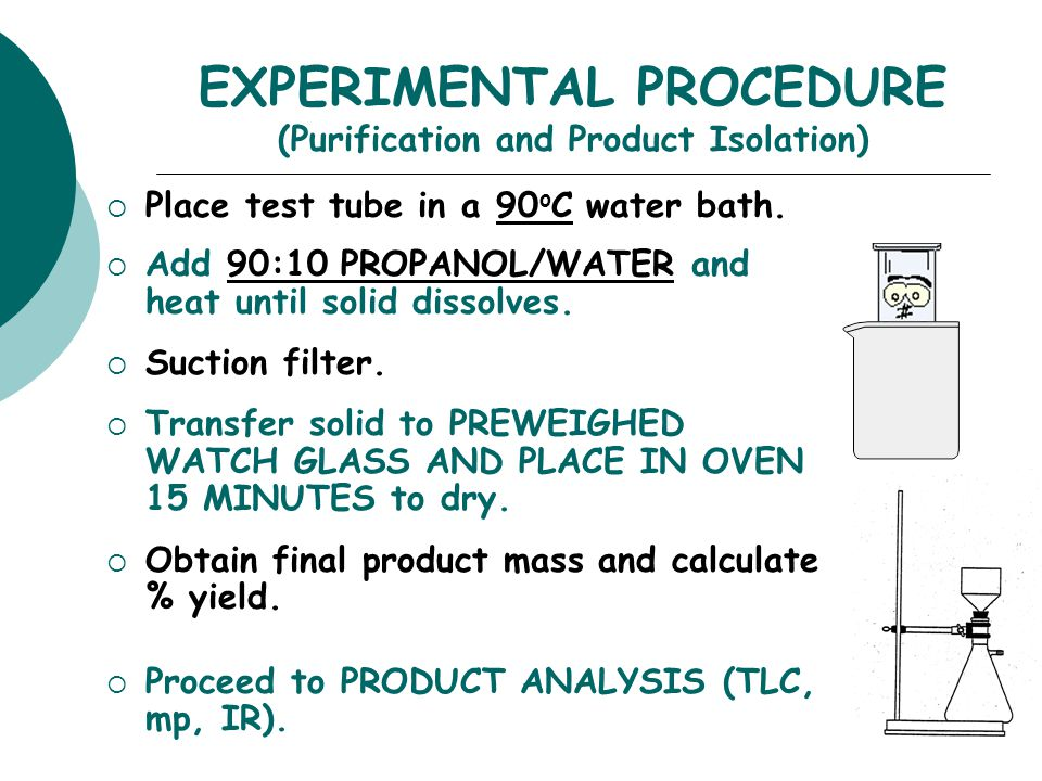 EXPERIMENTAL PROCEDURE (Purification and Product Isolation)