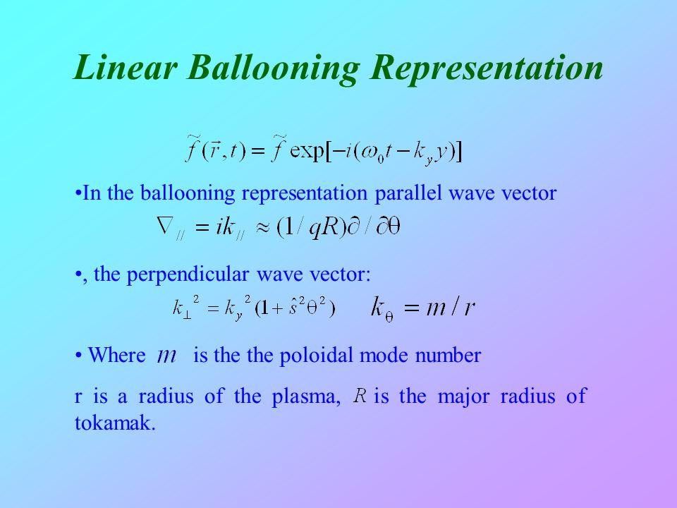 Linear Ballooning Representation