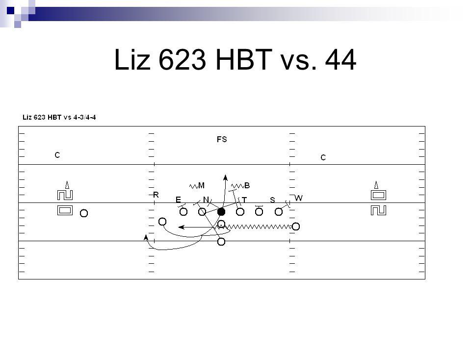 Liz 623 HBT vs. 44