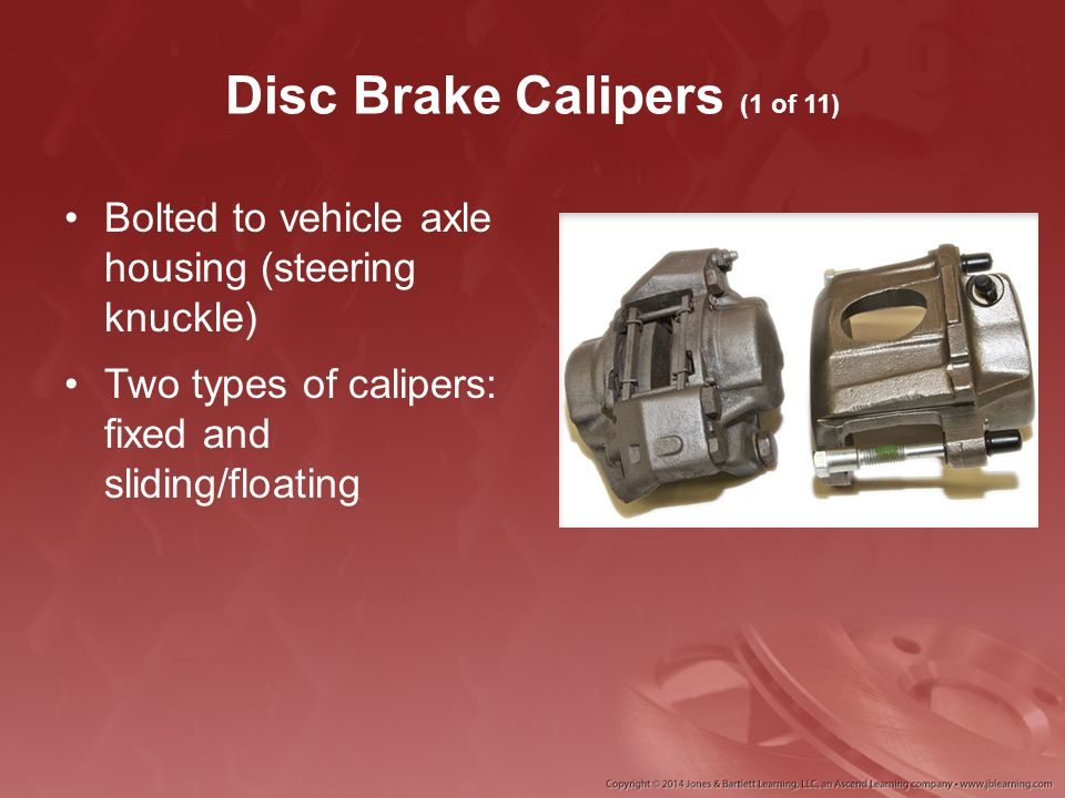 Disc Brake Calipers (1 of 11)