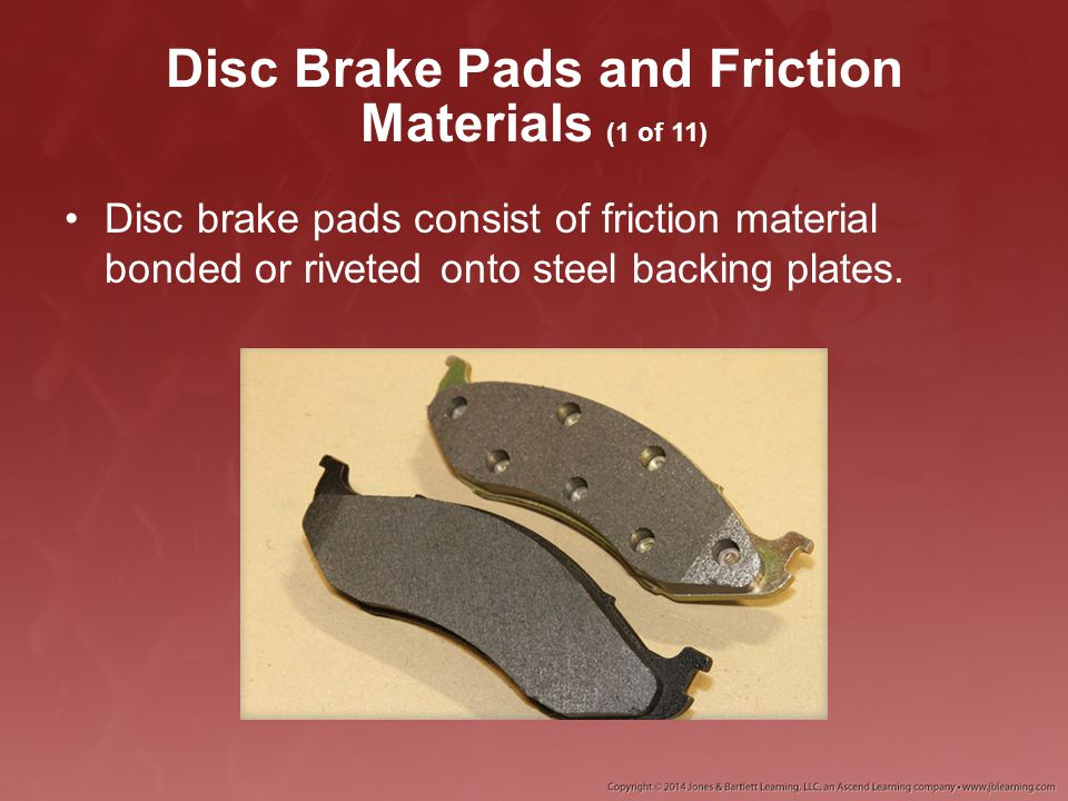 Disc Brake Pads and Friction Materials (1 of 11)