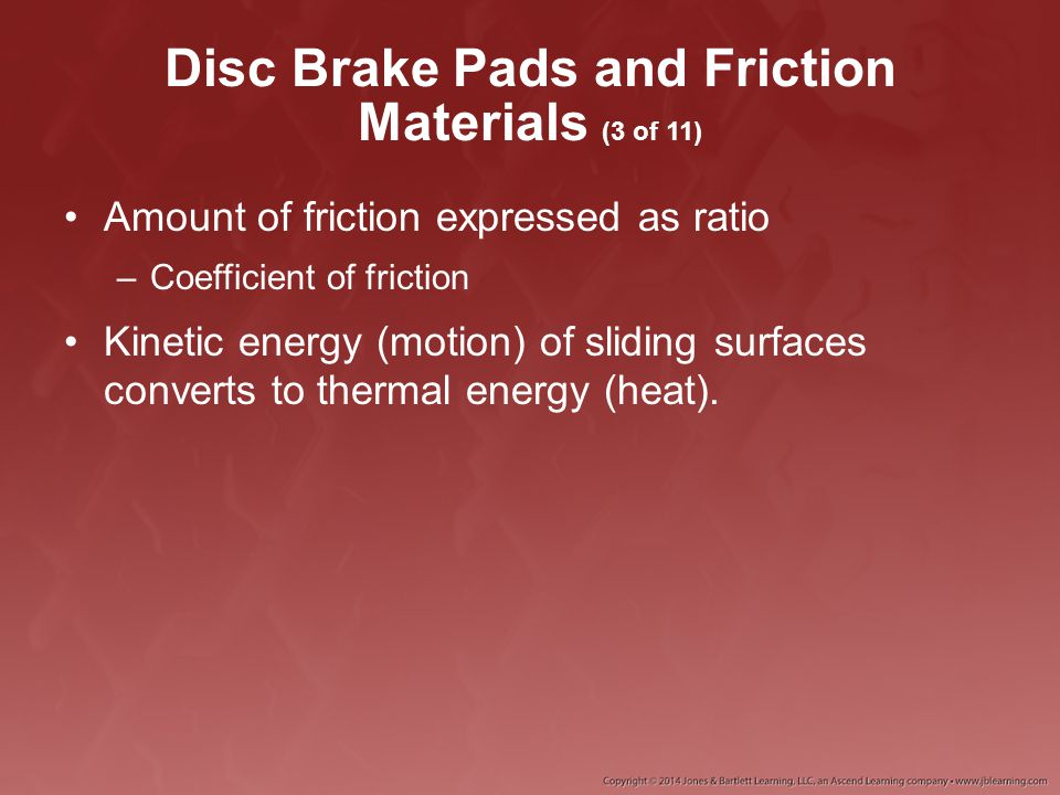 Disc Brake Pads and Friction Materials (3 of 11)