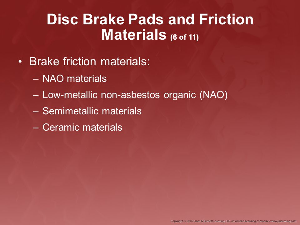 Disc Brake Pads and Friction Materials (6 of 11)