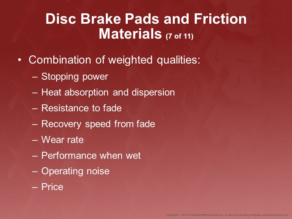 Disc Brake Pads and Friction Materials (7 of 11)
