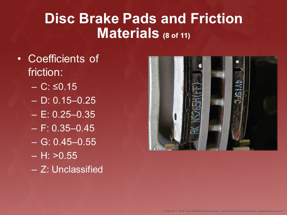 Disc Brake Pads and Friction Materials (8 of 11)