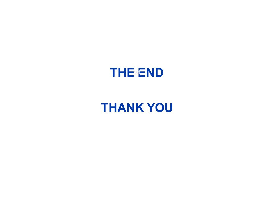 THE END THANK YOU 53