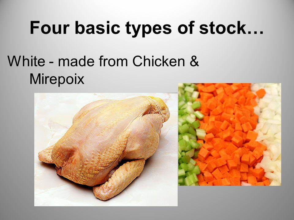 Four basic types of stock…