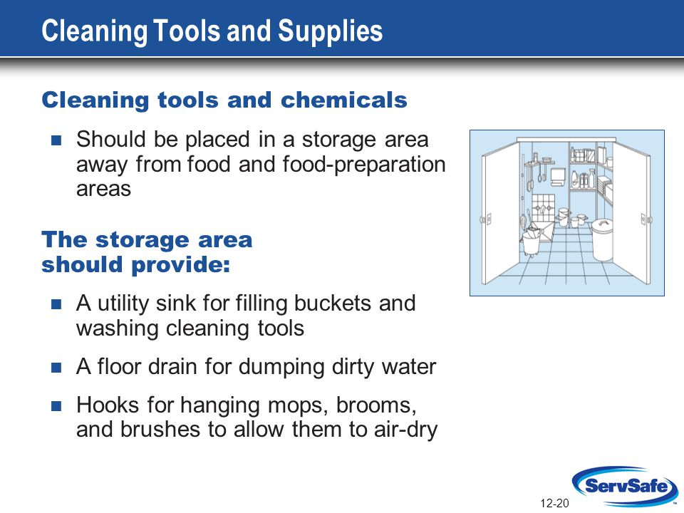 Cleaning Tools and Supplies