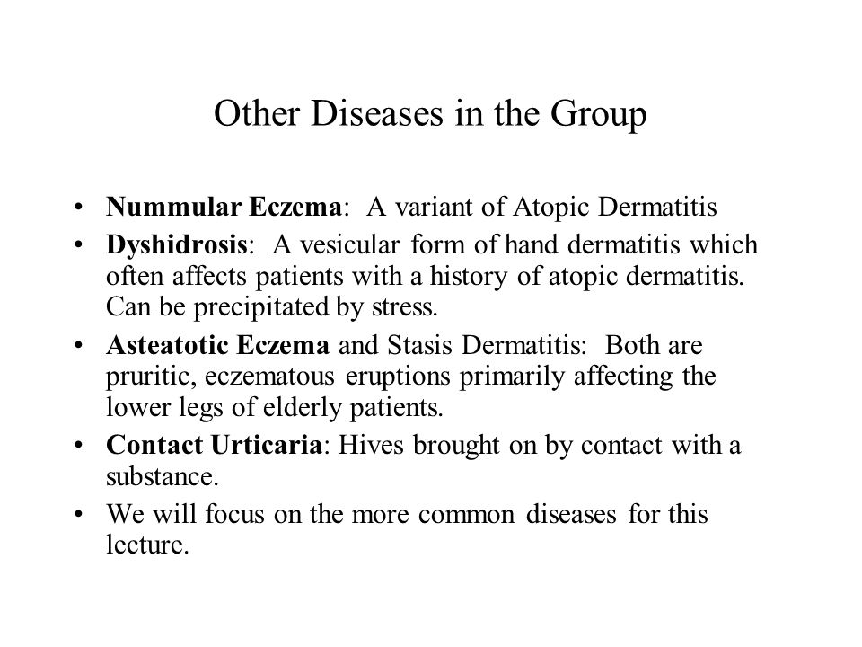 Other Diseases in the Group