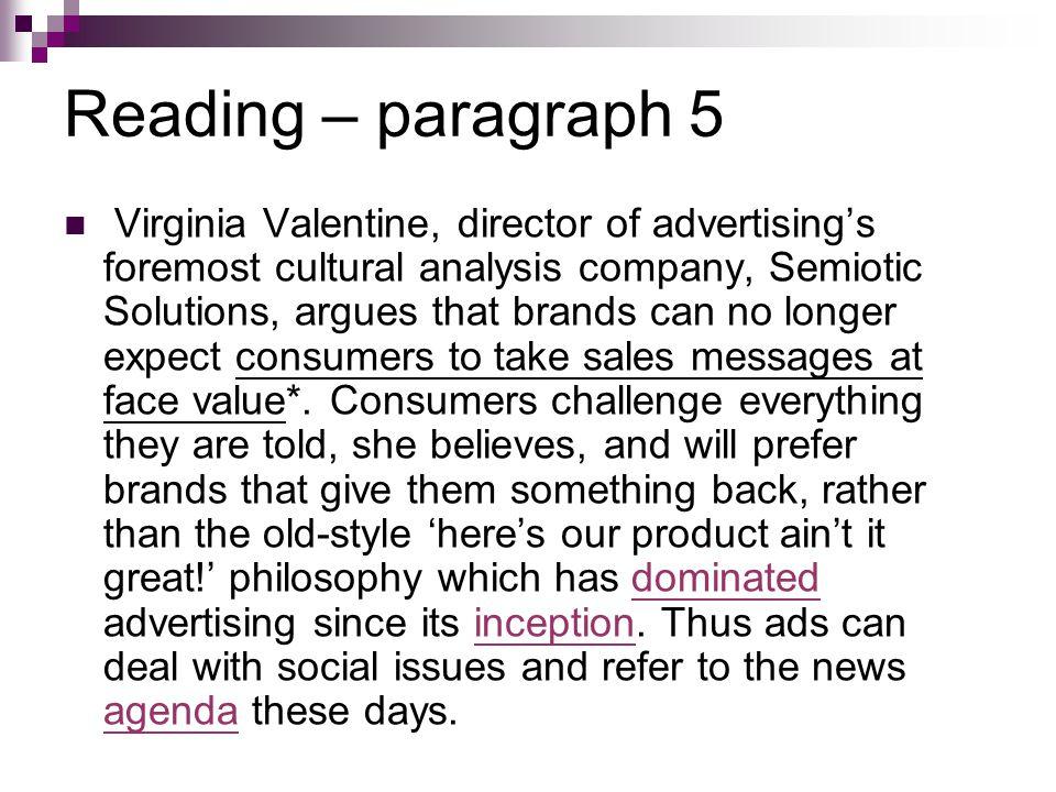 Reading – paragraph 5