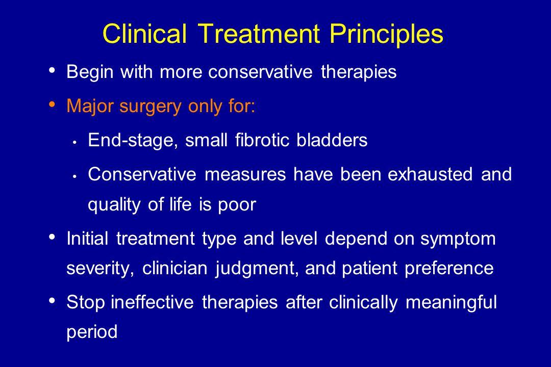 Clinical Treatment Principles