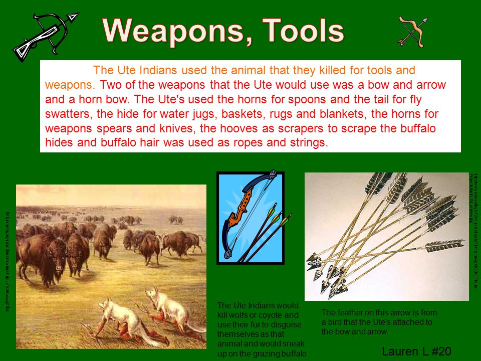 Weapons, Tools