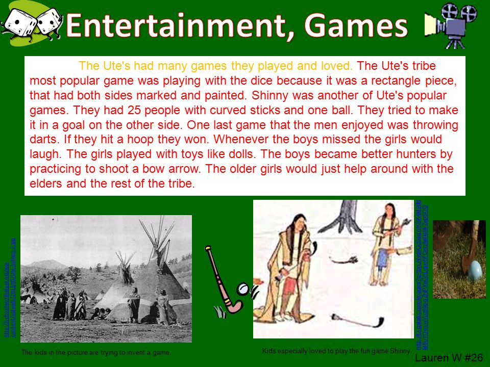Entertainment, Games