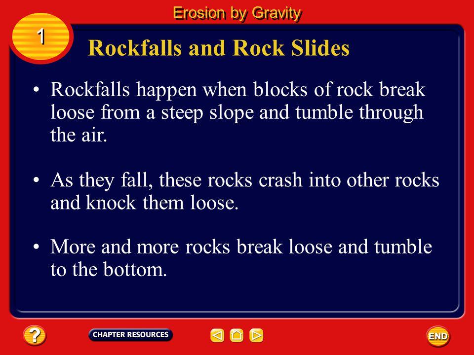 Rockfalls and Rock Slides